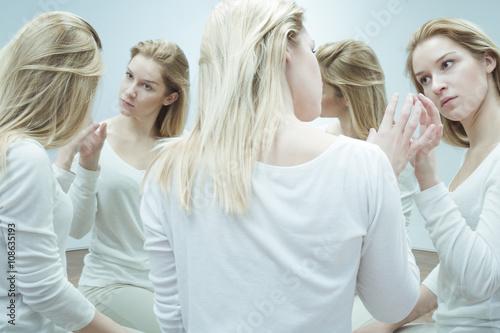 Photo  Seeking the help of psychiatrist
