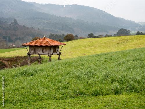 Foto auf Gartenposter Reisfelder architecture