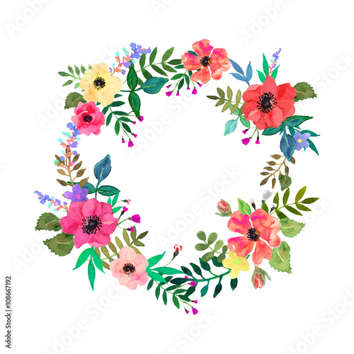 vector flowers set elegant floral collection with isolated leaves