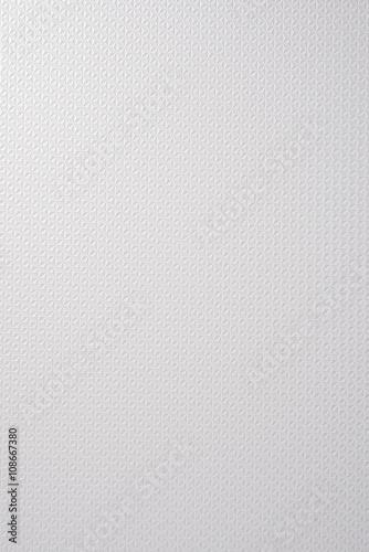 Shiny White Textured Plastic Surface