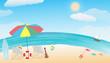 summer sea beach