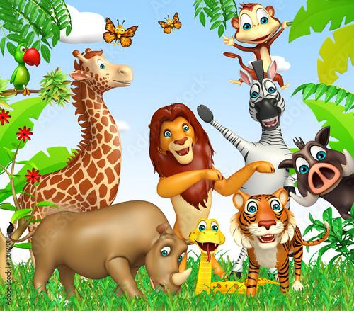 wild animal #108690103