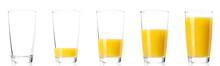 Set - Glass Of Fresh Orange Ju...