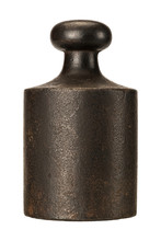 Old Rusty Scale Weight