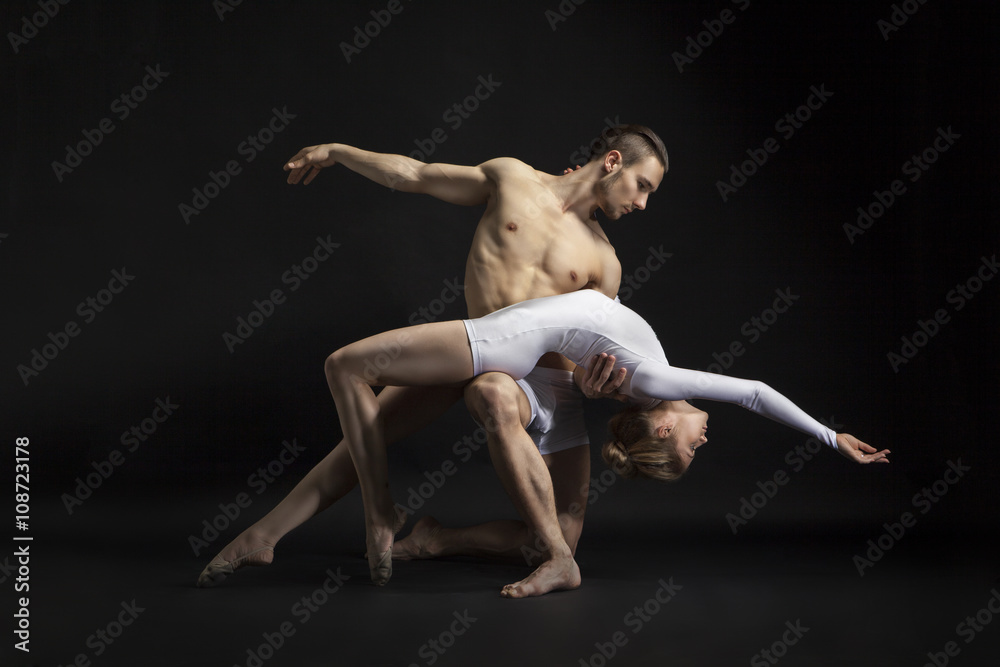 Fényképezés  couple dancing cotemporary