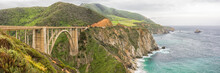 Panorama Of The Bixby Bridge, ...