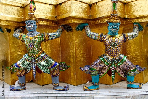 Photo  Bangkok - Palazzo Reale - Thailandia