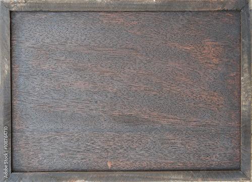 Türaufkleber Metall wood board