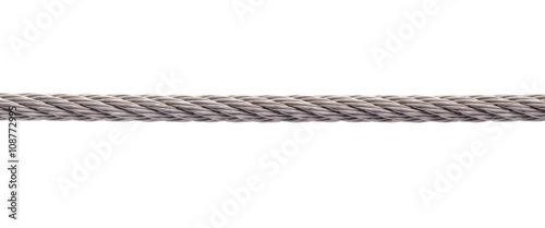 Metal cable Fotobehang