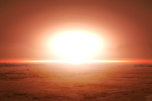 Explosion Of Nuclear Bomb Over...