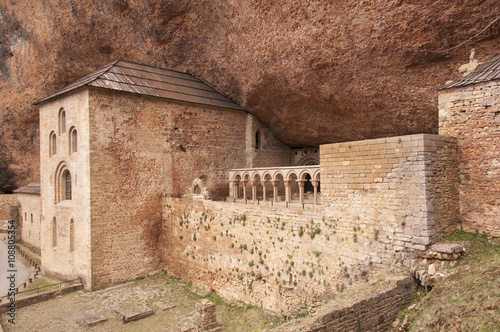 Monasterio San Juan de la Peña, Huesca, Aragon, España-