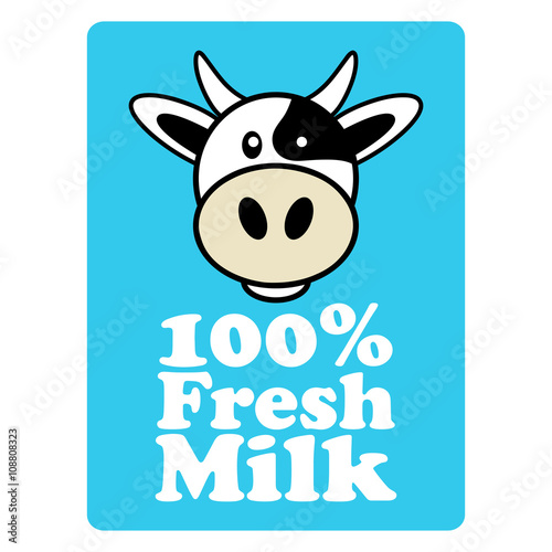 Label And Symbol For Milk Buy This Stock Vector And Explore