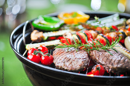 Photo sur Toile Grill, Barbecue Grill