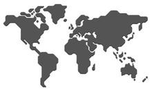 Stylized World Map