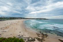 Bondi Beach Plaża W Australii