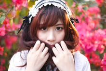 Charming Asian Girl In Japanes...