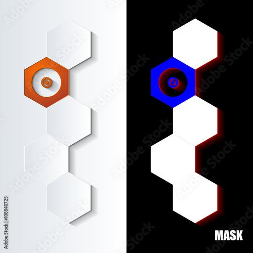 Photo  Hexagons_Orange_Icon_Vertical