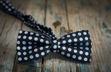 Close-up Of An Elegant Bow Tie