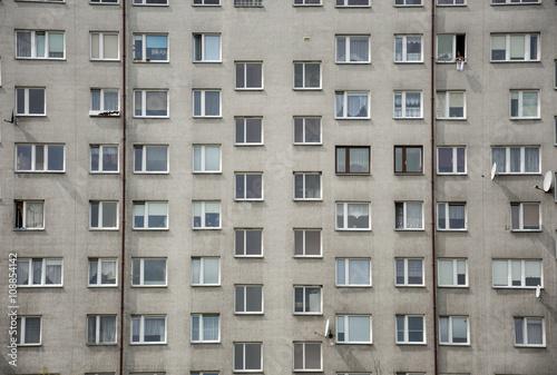 Obraz Blok mieszkalny - fototapety do salonu
