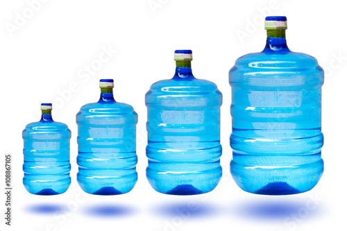 1.9 liter plastic bottle.