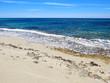 Playa de arena blanca en formentera