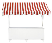 Market Stall With Awning