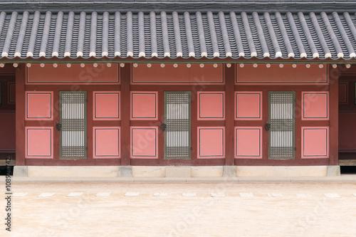 Photo  korea palace background