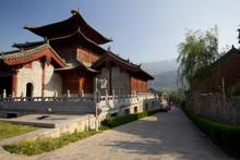 Shaolin Temple, Where The Shaolin Kung Fu Were Originated, Henan Province, China.