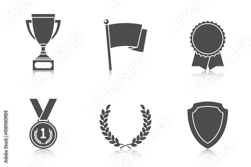 Fotografía  Trophy and awards icons