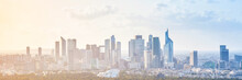 Modern Cityscape, Panoramic Ba...