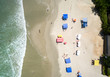 Top View of Beach