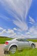 Car and Big skies, Montana