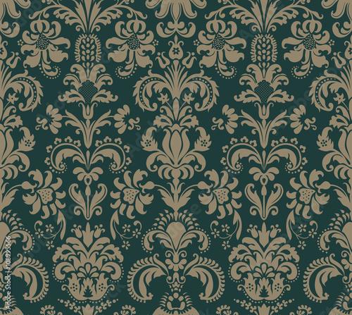 Obraz Decorative seamless pattern - fototapety do salonu