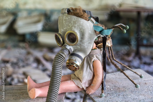 Photo  Creepy doll in Pripyat, Chernobyl