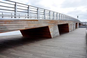Szczecin - most przy marinie NorthEast