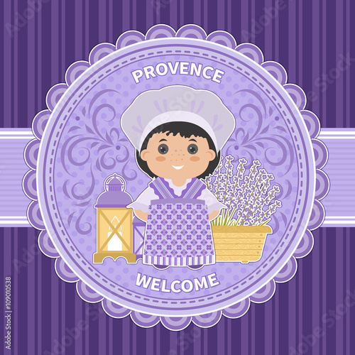 Invitation Welcome to Provence Poster