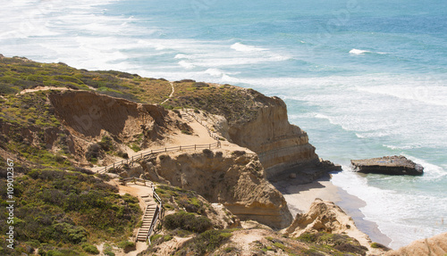 Poster Parc Naturel southern california coastline