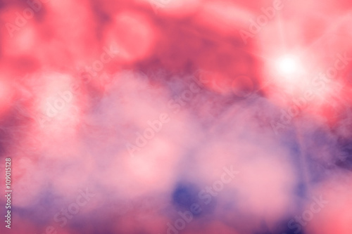 Canvas Print abstract bokeh background