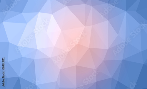 Photo abstract trianglify background