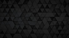 Black Triangles Extruded Surfa...