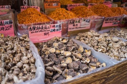 Market in Chinatown, NY