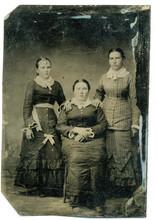 Tintype, Circa 1880, USA, Of T...