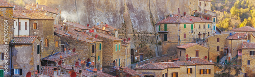 Foto op Plexiglas Toscane Etruscan ancient town in Grosseto province in Tuscany