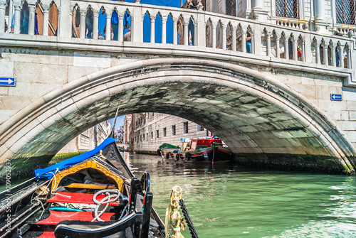 Gondola Venice Italy Canvas