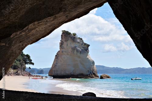 Foto op Canvas Cathedral Cove Cathedral Cove Coromandel Peninsula