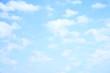 Leinwandbild Motiv Light sky and clouds