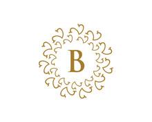 Royal Letter B Logo
