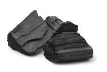 Three Pieces Of Charcoal