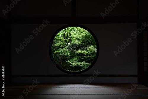 Stickers pour porte Kyoto 日本 京都 源光庵