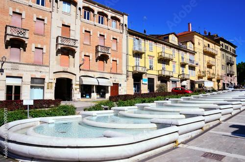 Small Italian Town Acqui Terme Wallpaper Mural